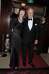 ED & CAROL VICTOR at the GQ Men of The Year Awards 2012 held at The Royal Opera House, London on 4th September 2012.