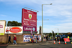 A general view outside Turf Moor ahead of Burnley v Olympiakos - Mandatory by-line: Robbie Stephenson/JMP - 30/08/2018 - FOOTBALL - Turf Moor - Burnley, England - Burnley v Olympiakos - UEFA Europa League Play-offs second leg