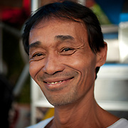 Coffee street vendor, Hue, Vietnam