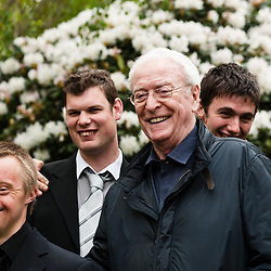 LONDON, UK - 21 May 2012: Michael Caine at the RHS Chelsea Flower Show 2012.