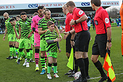 Mascot during the The FA Cup match between Forest Green Rovers and Carlisle United at the New Lawn, Forest Green, United Kingdom on 30 November 2019.
