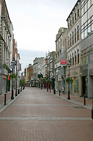 Early morning on Grafton Street, Dublin, Ireland