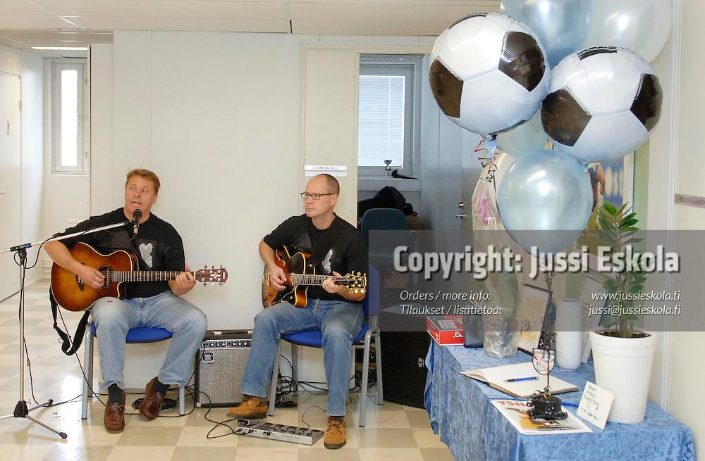 Uudenmaan piirin toimitilojen avajaiset 23.9.2005.&#xA;Photo: Jussi Eskola<br />