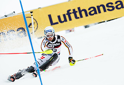 "David Ketterer (GER) competes during 1st Run of FIS Alpine Ski World Cup 2017/18 Men's Slalom race named ""Snow Queen Trophy 2018"", on January 4, 2018 in Course Crveni Spust at Sljeme hill, Zagreb, Croatia. Photo by Vid Ponikvar / Sportida"