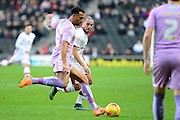 Readings Anton Ferdinand during the Sky Bet Championship match between Milton Keynes Dons and Reading at stadium:mk, Milton Keynes, England on 16 January 2016. Photo by Dennis Goodwin.