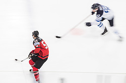 Mark Scheifele of Canada during the 2017 IIHF Men's World Championship group B Ice hockey match between National Teams of Canada and Finland, on May 16, 2017 in AccorHotels Arena in Paris, France. Photo by Vid Ponikvar / Sportida