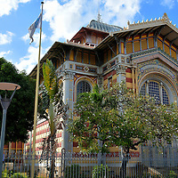 Schoelcher Library in Fort-de-France, Martinique<br />