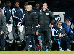Manager Jose Mourinho of Chelsea looks on after after Newcastle win 2-1 to inflict a first defeat in all competitions this season on Chelsea - Photo mandatory by-line: Rogan Thomson/JMP - 07966 386802 -06/12/2014 - SPORT - FOOTBALL - Newcastle, England - St James' Park - Newcastle United v Chelsea - Barclays Premier League.