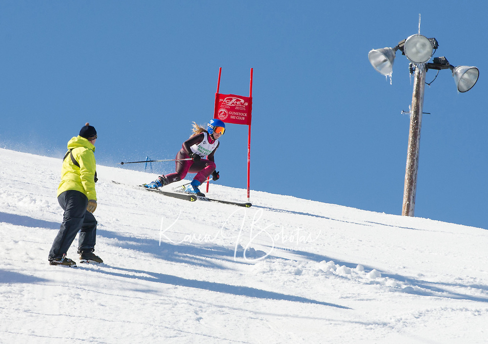GSC Lafoley Spring Series giant slalom at Gunstock.  ©2014 Karen Bobotas Photographer