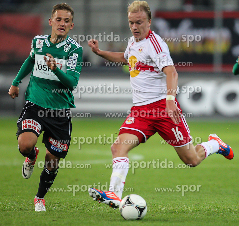 15.09.2012, Red Bull Arena, Salzburg,  AUT, 1. FBL, Red Bull Salzburg vs SV Josko Ried, 8. Runde, im Bild Havard Nielsen, (FC Red Bull Salzburg, #16) // during Austrian Football Bundesliga Match, 8th round, between FC Red Bull Salzburg and SV Josko Ried at the Red Bull Arena, Salzburg Austria on 2012/09/15. EXPA Pictures © 2012, PhotoCredit: EXPA/ Roland Hackl