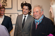 DAVID BAILEY; FENTON BAILEY, Opening of Bailey's Stardust - Exhibition - National Portrait Gallery London. 3 February 2014