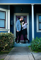 Nick and Michelle -Virginia Street<br /> Vallejo- Musicians and members of Dinner with the Kids had lived in San Francisco&rsquo;s Richmond district. Nick and Michelle, who are newly engaged, wanted a home of their own and they knew that they&rsquo;d never be able to afford their own space without having roommates in the City. They both work in San Francisco and found that they would rather commute from Vallejo then pay an astronomical amount in rent just for the convenience of being close to work.