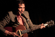 Justin Townes Earle at Maxwell's, Hoboken, NJ 5/1/2009.