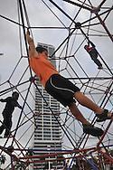 Parque en La Cinta Costera, Av. Balboa. Panamá City.©Victoria Murillo/Istmophoto.com