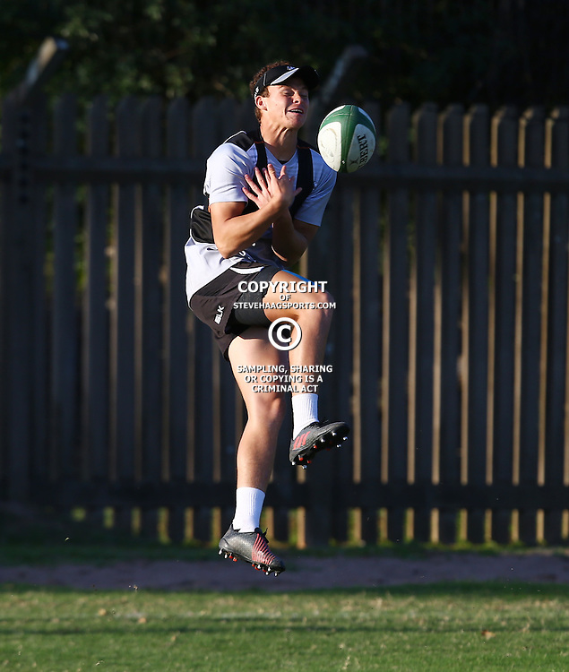 DURBAN, SOUTH AFRICA, 23 August, 2016 -Curwin Bosch during The Cell C Sharks Currie Cup training session at Growthpoint Kings Park in Durban, South Africa. (Photo by Steve Haag)<br /> <br /> images for social media must have consent from Steve Haag