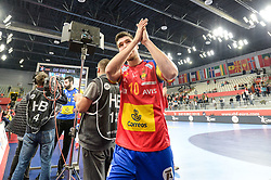 Dujshebaev Alex of Spain after handball match between National teams of Germany and Spain on Day 7 in Main Round of Men's EHF EURO 2018, on January 24, 2018 in Arena Varazdin, Varazdin, Croatia. Photo by Mario Horvat / Sportida