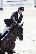 Thomas Mertens - Blom's Hiek'n<br /> KWPN Kampioenschappen 2017<br /> © DigiShots
