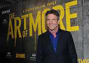 """Dennis Quaid attends Crackle's """"The Art of More"""" season two premiere, Tuesday, Nov. 15, 2016, at the Museum of Art and Design in New York.  Sony's streaming network, Crackle, will launch season two of its first original scripted drama, """"The Art of More,"""" on November 16th.  (Photo by Diane Bondareff/Invision for Crackle/AP Images)"""