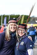Scotland fans before during the 2018 Autumn Test match between Scotland and Fiji at Murrayfield, Edinburgh, Scotland on 10 November 2018.