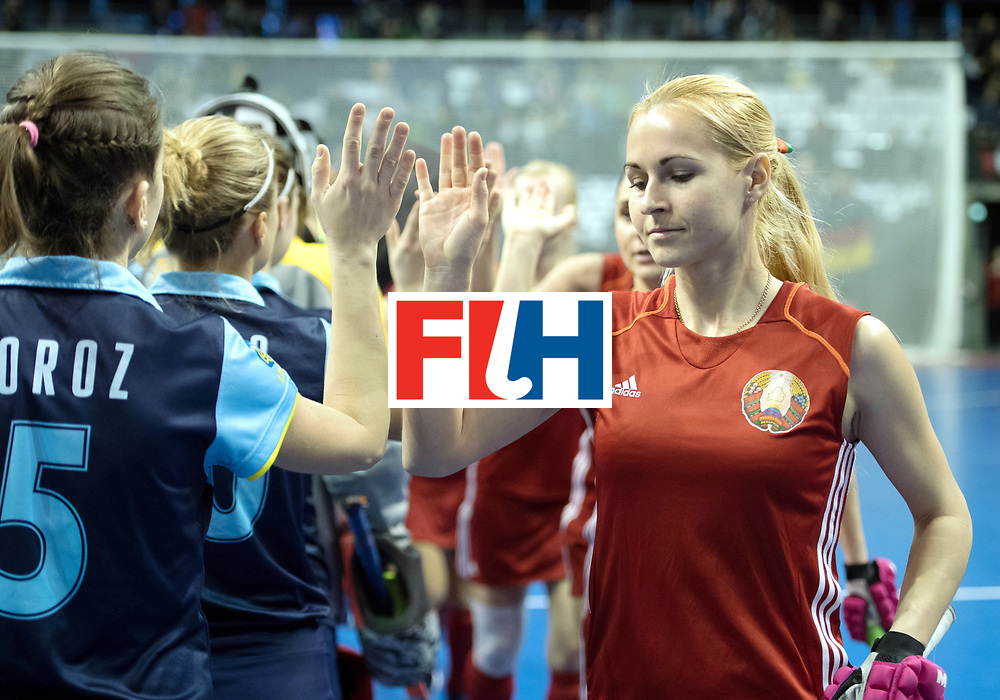 BERLIN - Indoor Hockey World Cup<br /> Bronze: Ukraine - Belarus<br /> foto: <br /> WORLDSPORTPICS COPYRIGHT FRANK UIJLENBROEK