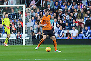 Wolverhampton Wanderers Mike Williamson on loan from Newcastle United during the Sky Bet Championship match between Birmingham City and Wolverhampton Wanderers at St Andrews, Birmingham, England on 31 October 2015. Photo by Shane Healey.