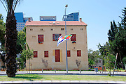 Israel, Tel Aviv, Sarona, (now Hakirya) was settled in 1871 by a group of German Templers. They were finally deported in 1941 by the British Mandate.