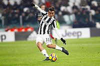 20.12.2017 - Torino - Tim Cup - Coppa Italia   -  Juventus-Genoa nella  foto: Paulo Dybala segna il gol dell '1 a 0