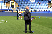 Steve Bruce before the EFL Sky Bet Championship match between Sheffield Wednesday and Bristol City at Hillsborough, Sheffield, England on 22 April 2019.