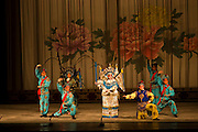 Performers at the Peking Opera in downtown Shanghai, China.
