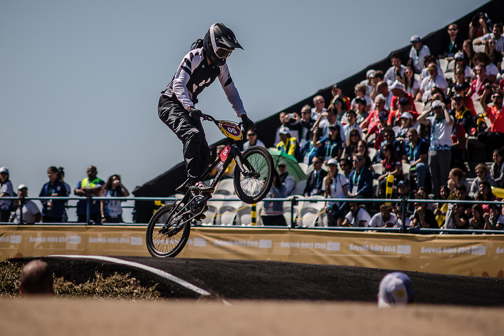 2018 Youth Olympic Games<br /> Buenos Aires, Argentina<br /> Mixed BMX - Race<br /> Motos<br /> SMITH Jessie (NZL)