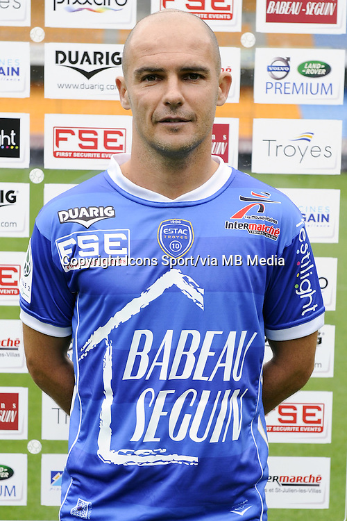 Benjamin NIVET - 11.09.2013 - Photo Officielle - Troyes<br /> Photo : Icon Sport