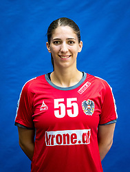 28.05.2016, BSFZ Südstadt, Maria Enzersdorf, AUT, ÖHB, Fototermin Frauen Nationalteam, im Bild Tamara Bösch // during the Team and Portrait Photoshoot of the Austrian women' s handball National Team at the BSFZ Südstadt, Maria Enzersdorf, Austria on 2016/05/28, EXPA Pictures © 2016, PhotoCredit: EXPA/ Sebastian Pucher
