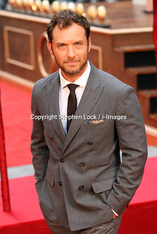 Jude Law  arriving  for the Anna Karenina premiere in London,  Tuesday 4th September 2012  Photo by: Stephen Lock / i-Images<br />