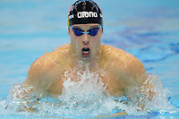 SWIMMING - EUROPEAN CHAMPIONSHIPS SHORT COURSE 2011 - SZCZECIN (POL) - DAY 1 - 08/12/2011 - PHOTO : STEPHANE KEMPINAIRE / KMSP / DPPI - <br /> MEN'S 100 M BREASTSTROKE - ALEXANDER DALE OLEN (NOR)