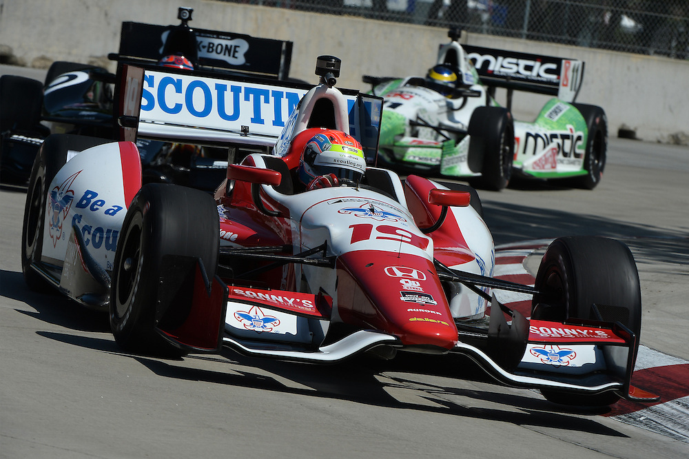 Justin Wilson, The Raceway at Belle Isle Park, Detroit, MI USA 6/1/2014