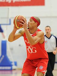 Bristol Flyers' Greg Streete - Photo mandatory by-line: Dougie Allward/JMP - Mobile: 07966 386802 - 13/02/2015 - SPORT - Basketball - Bristol - SGS Wise Campus - Bristol Flyers v Surrey United - British Basketball League