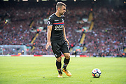 Crystal Palace #18 James McArthur  during the Premier League match between Liverpool and Crystal Palace at Anfield, Liverpool, England on 19 August 2017. Photo by Sebastian Frej.