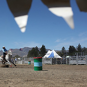 at the Wanaka Rodeo. Wanaka, South Island, New Zealand. 2nd January 2012