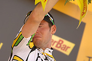 Tour de France 2010.An emotional Mark Cavendish wins Stage 5 Epernay-Montargis of the cycling Tour de France 2010.08-07-2010.