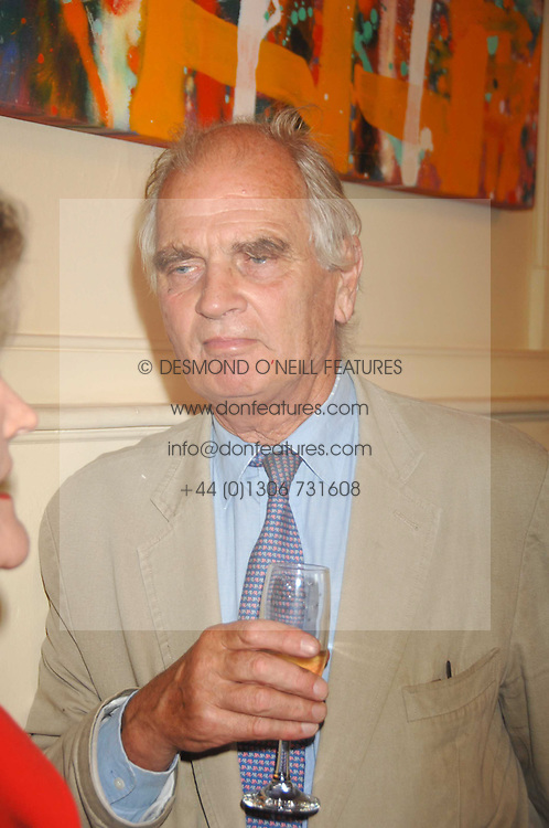 SIR RICHARD CAREW POLE  at a party to celebrate the publication of Sandra Howard's book 'Ursula's Stor' held at The British Academy, 10 Carlton House Terace, London on 4th September 2007.<br /><br />NON EXCLUSIVE - WORLD RIGHTS
