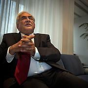 Dominique Strauss-Kahn, Managing Director of the International Monetary Fund