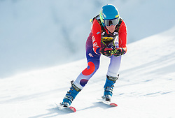 IGNJATOVIC Nevena of Croatia  during Women's Super Combined Slovenian National Championship 2014, on April 1, 2014 in Krvavec, Slovenia. Photo by Vid Ponikvar / Sportida
