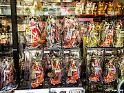Japanese Dolls for sale in Nakamise-Dori<br /> Asakusa, Tokyo, Japan<br /> May 2015
