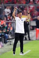 Fussball  1. Bundesliga  Saison 2019/2020  1. Spieltag  FC Bayern Muenchen - Hertha BSC Berlin       16.08.2019 Trainer Ante Covic (Hertha)  jubelt