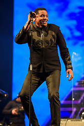 Jackie Jackson performing with The Jacksons during the Glastonbury Festival at Worthy Farm in Pilton, Somerset. Picture date: Saturday June 24th 2017. Photo credit should read: Matt Crossick/ EMPICS Entertainment.