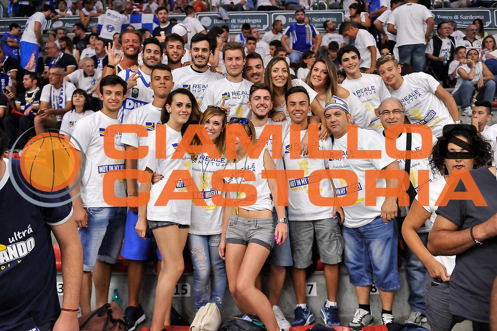 DESCRIZIONE : Campionato 2014/15 Serie A Beko Dinamo Banco di Sardegna Sassari - Grissin Bon Reggio Emilia Finale Playoff Gara6<br /> GIOCATORE : Tifosi Pubblico Spettatori<br /> CATEGORIA : Tifosi Pubblico Spettatori<br /> SQUADRA : Dinamo Banco di Sardegna Sassari<br /> EVENTO : LegaBasket Serie A Beko 2014/2015<br /> GARA : Dinamo Banco di Sardegna Sassari - Grissin Bon Reggio Emilia Finale Playoff Gara6<br /> DATA : 24/06/2015<br /> SPORT : Pallacanestro <br /> AUTORE : Agenzia Ciamillo-Castoria/L.Canu