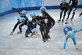 Short Track 5000m relay, Mens - Semifinals