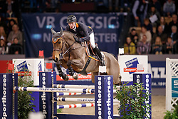 Rieskamp-Goedeking Tim, GER, Chaletta<br /> Prize of Performance Sales International<br /> FEI World Cup Neumünster - VR Classics 2017<br /> © Hippo Foto - Stefan Lafrentz