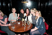 Natalie Appleton; Melanie Blatt; ? Kate Thornton; Heidi Range , PARTY AFTER THE OPENING OF SWEET CHARITY.  National Portrait Gallery cafe. London. 4 May 2010.  *** Local Caption *** -DO NOT ARCHIVE-© Copyright Photograph by Dafydd Jones. 248 Clapham Rd. London SW9 0PZ. Tel 0207 820 0771. www.dafjones.com.<br /> Natalie Appleton; Melanie Blatt; ? Kate Thornton; Heidi Range , PARTY AFTER THE OPENING OF SWEET CHARITY.  National Portrait Gallery cafe. London. 4 May 2010.