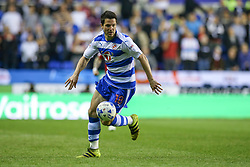 Yann Kermorgant of Reading in action - Mandatory by-line: Jason Brown/JMP - 16/05/2017 - FOOTBALL - Madejski Stadium - Reading, England - Reading v Fulham - Sky Bet Championship Play-off Semi-Final 2nd Leg